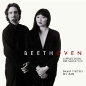 Beethoven: Complete Works for Piano & Cello / David Finckel, cello; Wu Han, piano