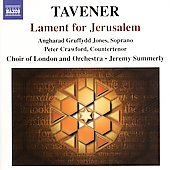 Tavener: Lament for Jerusalem / Summerly, et al