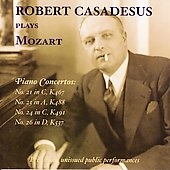 Robert Casadesus Plays Mozart - Piano Concertos