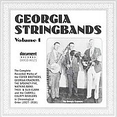 Various Artists: Georgia Stringbands, Vol. 1