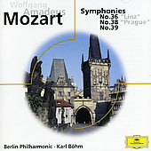 Mozart: Symphonies Nos. 36, 38 & 39