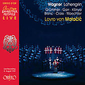 Wagner: Lohengrin / Matacic, K&oacute;nya, Gr&uuml;mmer, Crass, et al