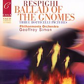Respighi: Ballad of the Gnomes, etc / Geoffrey Simon, Philharmonia Orchestra