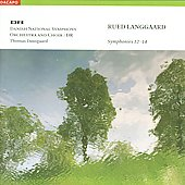 Langgaard: Symphonies no 12, 13 & 14 / Dausgaard, et al