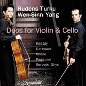 Duos for Violin & Cello / Rudens Turku, Wen-Sinn Yang