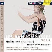 Les ballets Russes Vol 2 - Ravel, Poulenc / Gielen, Viotti, Southwest German RSO