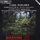 Nielsen: Symphony no 2, etc / Chung, Gothenburg SO