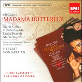 Puccini: Madama Butterfly / Karajan, Callas, Gedda [Includes CD-ROM]