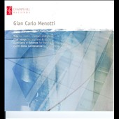 Gian Carlo Menotti: Trio For Violin Clarinet; Piano Five Songs
