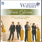 Dvorak: Quartet in F major, Op. 96 'American'; Quartet in C major, Op. 61