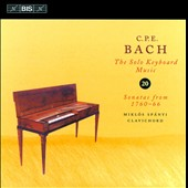 C.P.E. Bach: The Solo Keyboard Music, Vol. 20