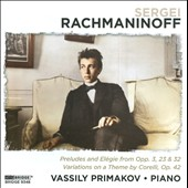 Rachmaninoff Recital / Primakov