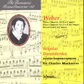 Weber: Piano Concertos / Demidenko, Mackerras, Scottish