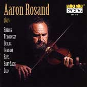 Aaron Rosand plays Berlioz, Tchaikovsky, Ravel, Lalo, others