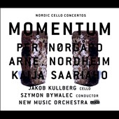 Nordic cello concertos - works Per Norgard, Arne Nordheim; Kaija Saariaho / Jakob Kullberg, cello