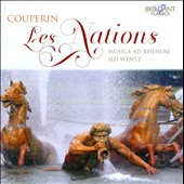 Couperin: Les Nations / Jed Wentz, Musica Ad Rhenum