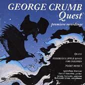 Crumb: Quest / Speculum Musicae