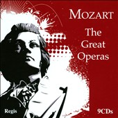 Mozart: The Great Operas - The Marriage of Figaro, Don Giovanni, The Magic Flute, Cosi Fan Tutte / Schwarzkopf, Moffo, Taddei, Sutherland et al. [9 CDs]