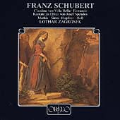 Schubert: Claudine von Villa Bella, etc / Zagrosek, et al