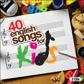 Various Artists: 40 English Songs For Kids [Box]