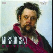 Mussorgsky Edition - Pictures; Boris Godunov; Khovanshchina; Sorochintsi Fair; Songs; Solo Piano Works [14 CDs]