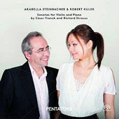 C. Franck; R. Strauss: Sonatas for Violin and Piano / Arabella Steinbacher, violin; Robert Kulek, piano