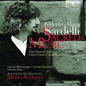 Federico Maria Sardelli (b.1963): Sacred Music for voices & orchestra in Baroque style - Dixit Dominus; Kyrie; Credo; Church Concertos / Modo Antiquo