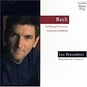 Bach: Goldberg Variations / Luc Beauséjour