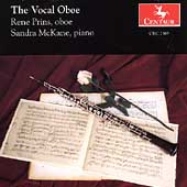 The Vocal Oboe / Rene Prins, Sandra McKane