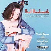 Hindemith: Music for Cello and Piano / Warner, Buck