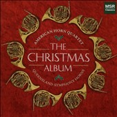 The American Horn Quartet Christmas Album - Works by Mendelssohn, Handel, Mel Torme, et al. / American Horn Quartet; Queensland Symphony Horns