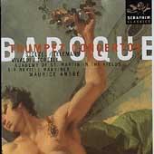 Baroque Trumpet Concertos / Andr&eacute;, Marriner, et al