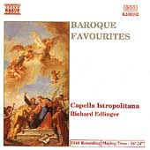 Baroque Favourites / Edlinger, Capella Istropolitana