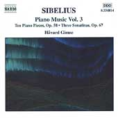 Sibelius: Piano Music Vol 3 / Håvard Gimse