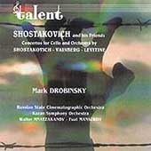 Shostakovich, Vainberg, Levitine: Cello Concerti / Drobinsky