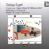 Ligeti: Continuum, Quintet, Artikulation, Glissandi, Etudes