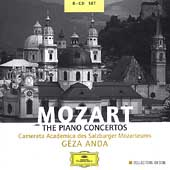 Mozart: The Piano Concertos / G&#233;za Anda, Salzburg Mozarteum