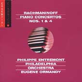 Rachmaninov: Piano Concertos no 1 & 4 / Entremont, Ormandy