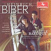 Biber: Sonatas for Strings / Schenkman, Matthews, Greenberg