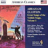 American Classics - Great Songs of the Yiddish Stage Vol 1