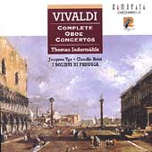 Vivaldi: Complete Oboe Concertos / Inderm&uuml;hle, Brizi, Tys
