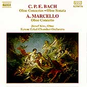 C.P.E. Bach, A. Marcello: Oboe Concertos / J&oacute;zsef Kiss