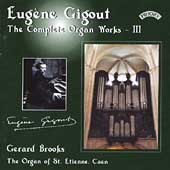 Gigout: Organ Works Vol 3 / Brooks