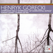 G&oacute;recki: Symphony no 3 / de Feis, Leaper, Gran Canaria PO