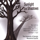 Sunlight & Shadows / University of Georgia Woodwind