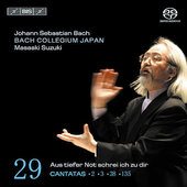 Bach: Cantatas Vol 29 / Suzuki, Mields, T&#252;rk, et al