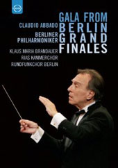 Gala from Berlin: Grand Finales - Highlights from Beethoven 7th; Mahler 5th; Stravinsky Firebird; Schonberg: Gurre-Lieder et al. / Claudio Abbado [DVD]