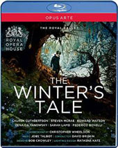Joby Talbot: The Winter's Tale / Lauren Cuthbertson, Steven McRae, Edward Watson, Sarah Lamb (dancers). Royal Opera, David Briskin [Blu-ray]