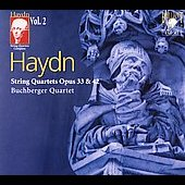 Haydn: String Quartets Complete Vol 2 / Buchberger Quartet