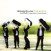 Premi&egrave;re - Schubert, Haydn, Dvor&aacute;k / Matangi Quartet